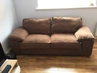 Cargo Esprit Large Sofa in Brown