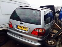 Ford Galaxy 2004 diesel spare parts available bumper bonnet light door wing