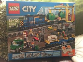 LEGO CITY 60052 CARGO TRAIN SET NEW