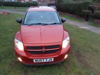 2008 Dodge Caliber 2.0 TD SXT Sport 5dr [NEW MOT+AC+CRUISE+ALLOYS+FSH]