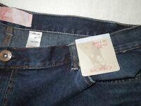 A Pair Of Genuine Ladies Cherokee Bootcut Denim Jeans