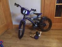 "Kids 16"" Zak bike"