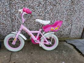 Girls bike - 12 inch wheels