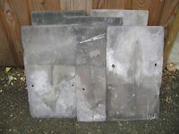 125 Welsh second hand roofing slates 14 inches x 8 inches for collection Hexham Northumberland