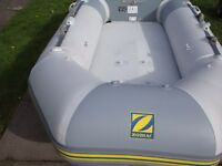 zodiac acti v and yamaha outboard 2.5 hp excellent condition