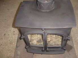 Hunter CB5 multifuel stove in good used condition