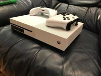 White Xbox one swap for ps4