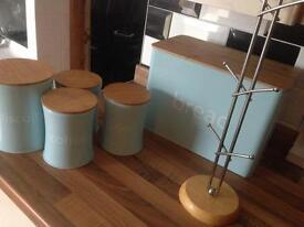 Kitchen accessories for sale (light blue)colour