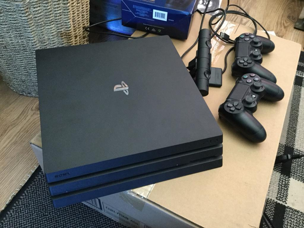 PlayStation 4 Pro bundle with 2 free games - NO OFFERS | in Bridge of Don,  Aberdeen | Gumtree