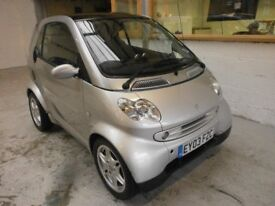 2003 SMART CITY COUPE PASSION 0.7 3DOOR, PANORAMIC ROOF, SERVICEHISTORY, HPI CLEAR, LOW MILES 44K