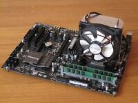AMD FX 6300 and Gigabyte GA-970A-UD3P Based Computer Bundle **NEW**