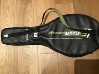 Wilson hyper hammer full tennis racquet cover with shoulder strap