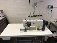 Texi premium ex twin needle industrial sewing machine