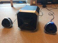 Philips 2.1 Multimedia Speakers