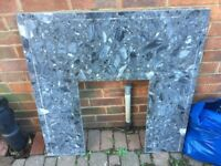 granite fire surround