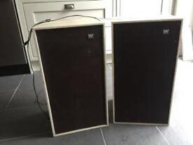 Vintage Wharfedale speakers - open to offers