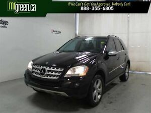 2010 Mercedes-Benz M-Class M Class  AWD ML350 Bluetec Sunroof B/