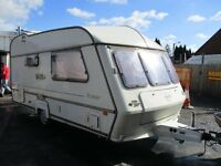 TRANSTAR 2 BIRTH CARAVAN 240v INPUT MAINS ELECTRIC SKYLIGHT HOB COOKER SINK SHOWER TOILET PX SWAPS