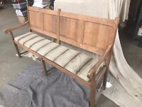 old 4-seater bench