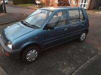 Perodua Nippa EX 5 Door, 11 moths MOT, 68,000 miles, one owner