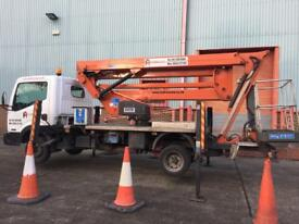 Cherry picker hire Manchester northwest mewp platform