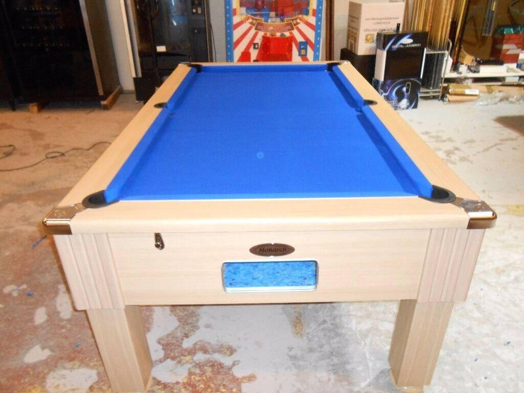 Dpt Ft Monarch Pool Table In Aberdeen Gumtree - Monarch pool table