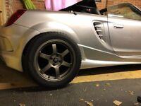 Rota Grid Alloys - As-new wheels & snow tyres