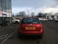 2007 07 SUZUKI SX4 1.6 GLX 5D 106 BHP **** GUARANTEED FINANCE ****PART EX WELCOME***