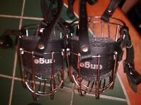 """2 Wire Basket style """"Angel"""" muzzles."""