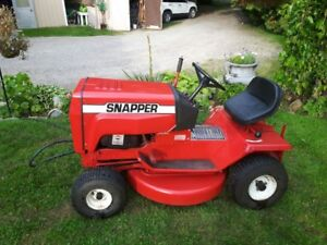 SOLD *** The Snapper: Riding Lawnmower
