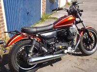 Moto Guzzi V9 Roamer, as new only 1400 miles