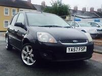 2008(57) FORD FIESTA ZETEC CLIMATE S-A 1.4 PETROL*5 DOOR*MOT 22/JULY/2017*HPi CLEAR*P/X WELCOME*c