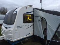 Bailey Pegasus Bolgna 2013 twin axle caravan - excellent van reluctantly for sale