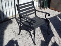 Cast iron garden chair / bench ends / garden furniture / vintage garden / outdoor furniture / patio