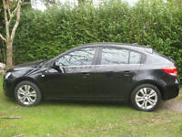 Very good condition 2012 Chevrolet Cruze LTZ 1,8 petrol for sale. MOT 2016 dec. Serviced history.