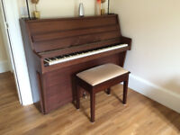 Upright B Squire (1962) starter piano (with stool) for sale