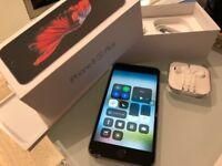 iPhone 6s Plus 128 gb Space Grey Sim Free Unlocked Any UK Network/Overseas Apple Warranty 4 May 19