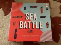M&S Wooden Sea Battle Game (Battleships)