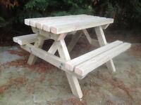 Childs Picnic Bench (NEW)