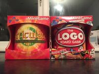 Articulate and LOGO travel board games