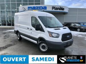 2016 FORD TRANSIT-250 MEDIUM ROOF VAN MID ROOF 3.7L CAM. DE RECU