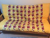 Original Futon company double futon / sofa bed