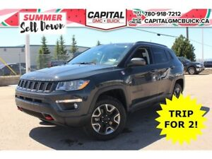 2017 Jeep Compass TRAILHAWK 4WD LEATHER NAV OFF ROAD SUSPENSION