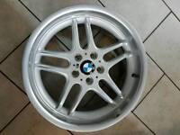 """BMW 18"""" alloy wheel (E39/E38)"""