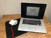 "Apple MacBook Pro Retina 15.4"" Mid-2015 2.5GHz i7 512GB SSD 16GB RAM R9 M370X US"