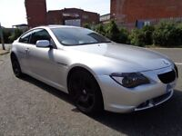 2004 BMW 6 SERIES 645 CI AUTOMATIC, PANORAMIC ROOF, FSH, 3 MONTHS WARRANTY