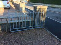 3 Iron Gates for driveway