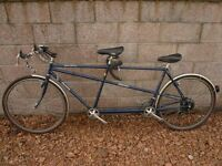 Tandem bicycle - classic Dawes Super Galaxy tandem, 531 butted tubes & forks
