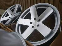 "Brand new 18"" 5x112 alloy wheels deep concave JDM"