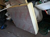 Used Xtratherm insulation sheet X3